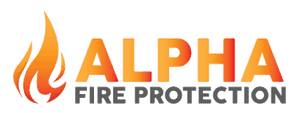 alpha fire protection logo