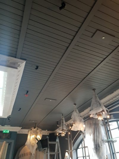 timber ceiling upgrade