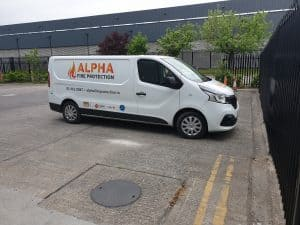 Alpha Fire Protection Van
