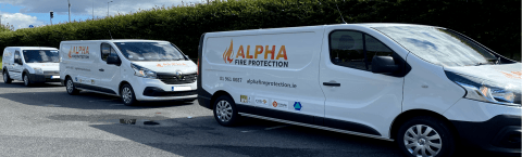 Alpha Fire Protection Vans